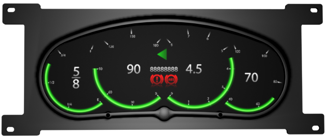 Librow digital instrument cluster